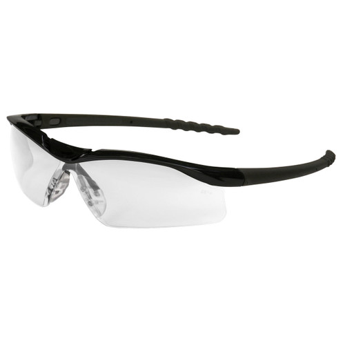 Crews Dallas Safety Glasses with Clear Anti-Fog Lens