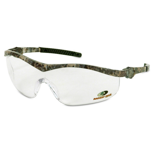 Crews Winchester Safety Glasses with Mossy Oak Frame and Clear Lens