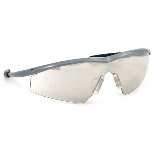 Crews Tremor Safety Glasses with Steel Frame and Indoor/Outdoor Mirror Lens