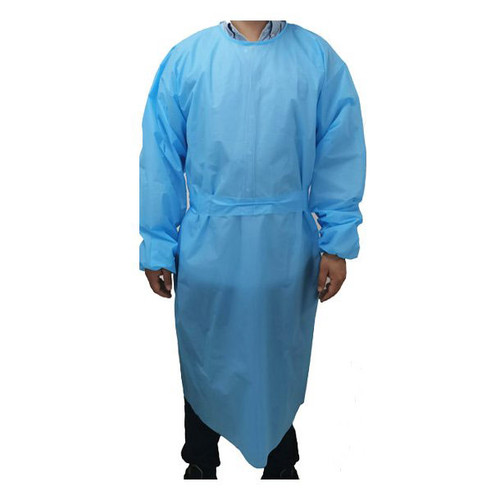 """10 Pack Non-Woven 55"""" Isolation Gown"""