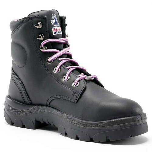 Steel Blue Ladies Argyle Steel Toe Boot - 812892W