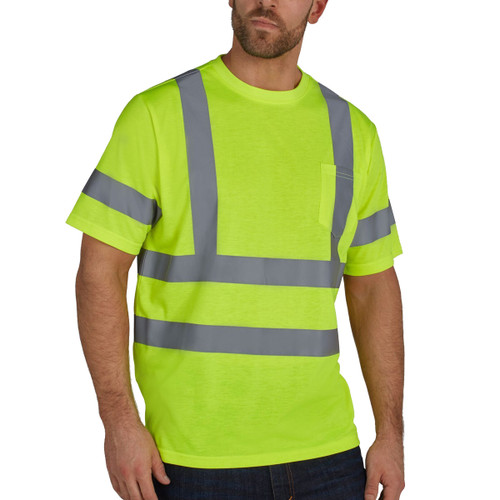 Utility Pro Double Stripe Pocket Bird's Eye T-Shirt - UHV302