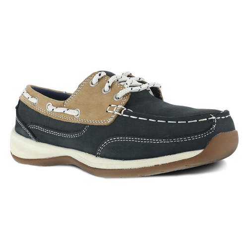 Rockport Women's Three Eye Tie Boat Shoe - RK670