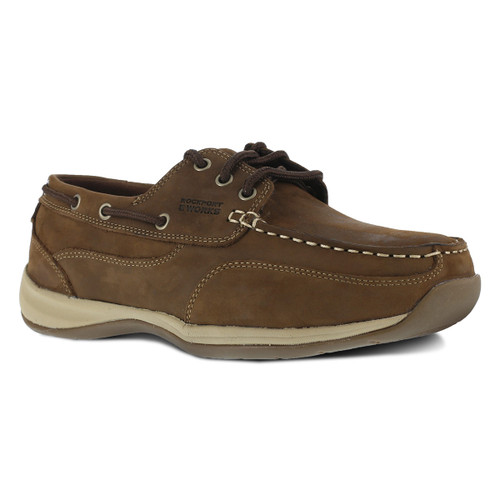 Rockport Women's Three Eye Tie Boat Shoe - RK676