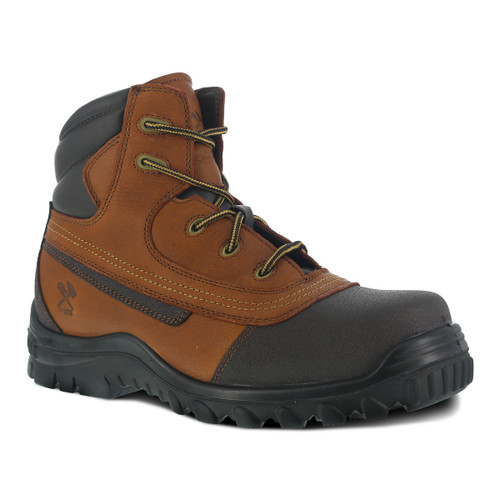 "Iron Age Backstop Steel Toe 6"" Work Boot"