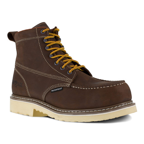"Iron Age Solidifier Men's Brown 6"" Waterproof Work Boot"