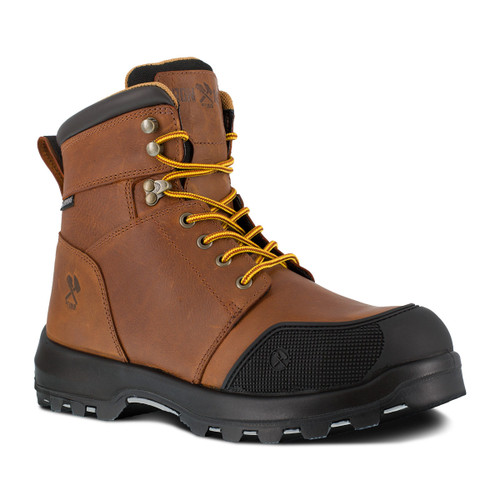 """Iron Age Immortalizer Men's Brown 6"""" Waterproof Work Boot - Wide Width Only"""