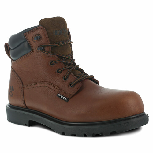"Iron Age Hauler Men's Brown 6"" Waterproof Work Boot"