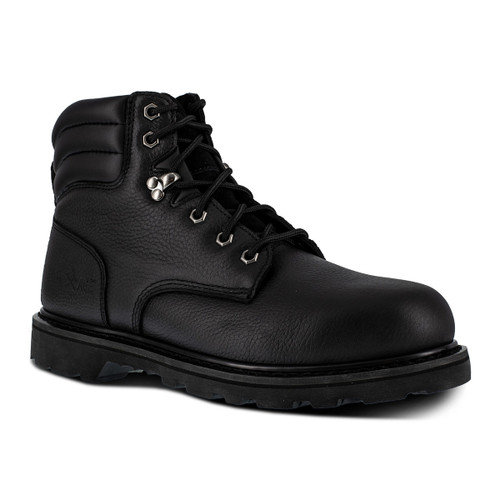 "Iron Age Backhoe Men's Black 6"" Work Boot"