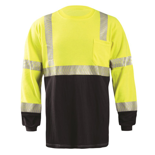 OccuNomix Flame Resistant Long Sleeve Segmented T-Shirt