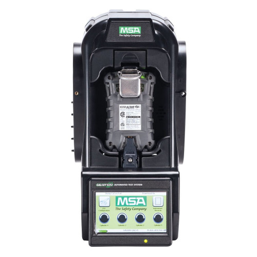 MSA Galaxy GX2, ALTAIR 4/4X/4XR Test Stand, Single Valve, w/ Single Unit Charger
