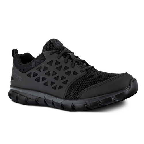 Men's Reebok Sublite Cushion Work Safety Toe Athletic Shoes - RB4035