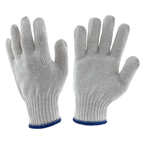 Memphis Natural Cotton Poly String Knit Gloves - Heavy Weight