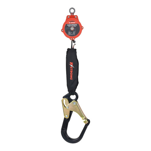 K-Strong 6 ft. Micron SRL with Large Rebar Hook and Steel ANSI Gate