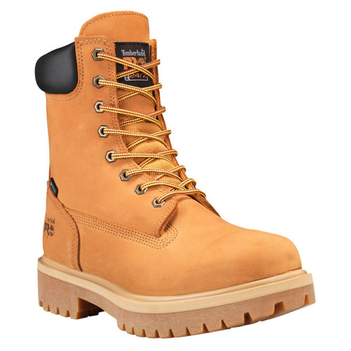 """Timberland PRO Men's 8"""" Direct Attach Soft Toe Insulated EH WP Work Boots - 26011713"""