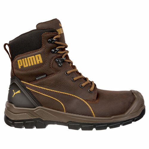 Puma Safety Men's Conquest CTX Waterproof Side Zip Composite Work Boot - 630655