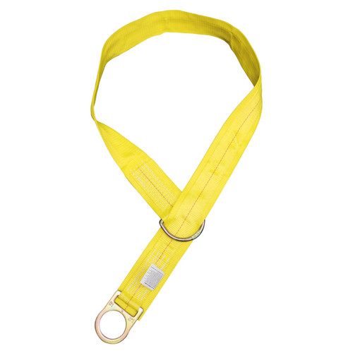 FrenchCreek 1336-WP - 3ft. Double D-ring Tie-off Strap with Wear Pad