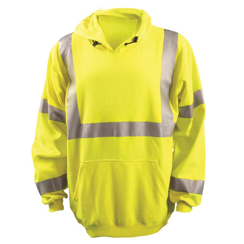 OccuNomix Flame Resistant Pullover Reflective Hoodie
