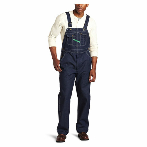 KEY Industries Bib Overall - Hi Back w/ Zippered Fly - 273