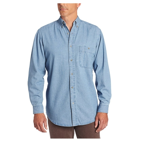 Wrangler Rugged Wear Denim Shirt - RAL08DM