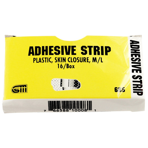"Certi Strip Skin Closures, 1/2"" x 6"", 16 pack"