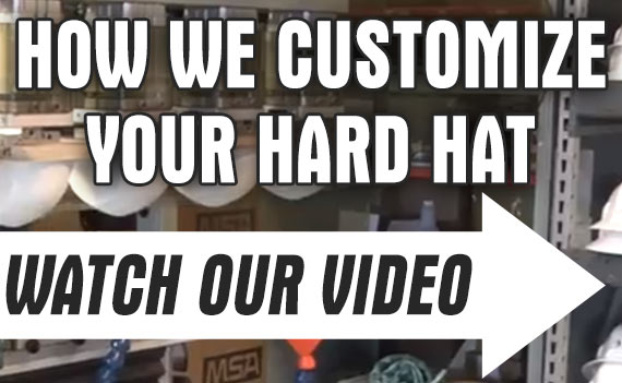 How We Customize Your Hard Hats