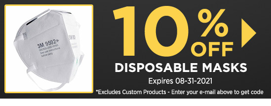 10% Off Disposable Masks