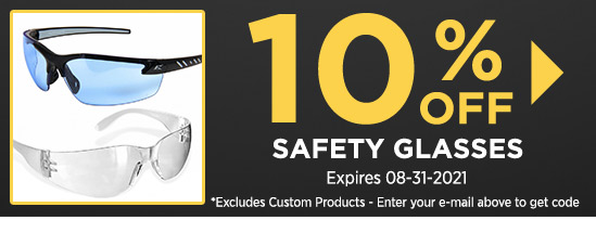 10% Off Safety Glasses