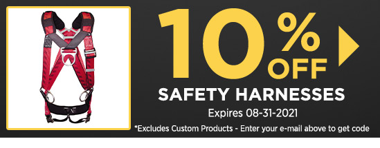 10% Off Safety Harnesses