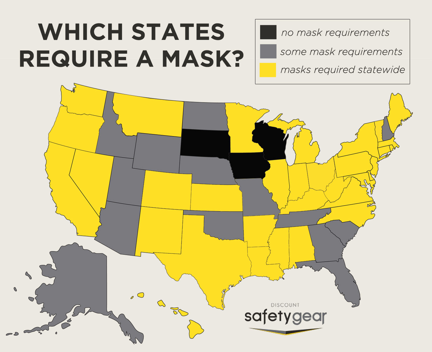 Which States Require Masks