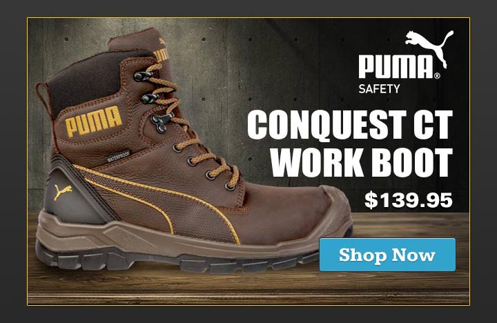 Puma Safety Men's Conquest CTX Composite Work Boot