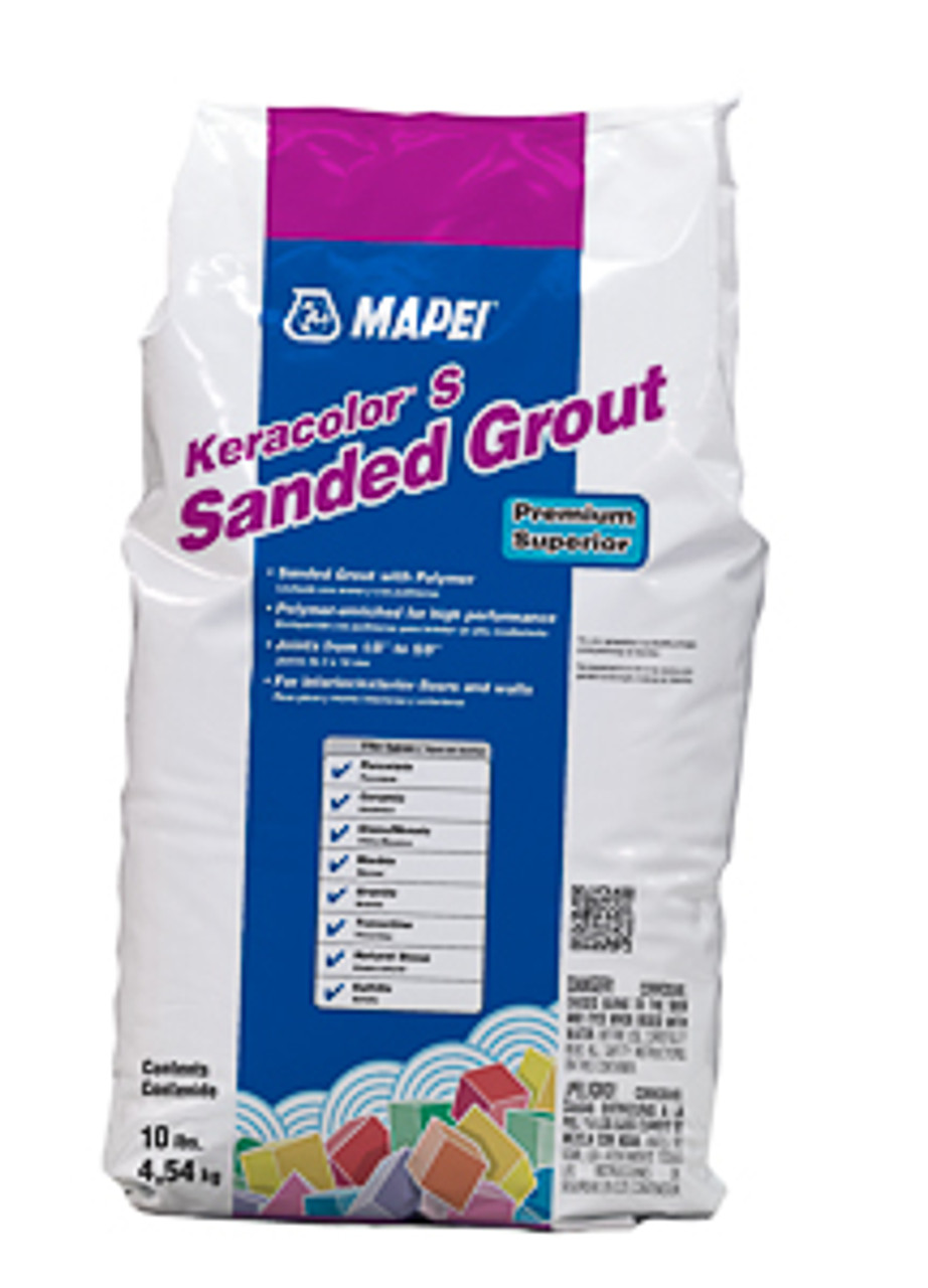 - DISCONTINUED COLORS 25 lb Mapei Keracolor  S Grout  - Sanded
