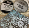 Metallic Sheen Rare Aqua Paint  Redesign With Prima with Free shipping