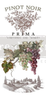 Wine Transfer  Small Rub On Furniture Transfer  with FREE Shipping