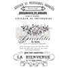French Specialties Rub on Decor Transfer from Redesign with Prima with Free shipping French Specialties Rub on Decor Transfer from Redesign with Prima with Free shipping