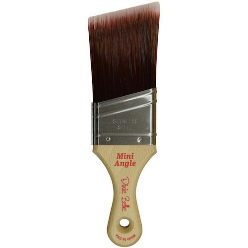Dixie Belle Angle Mini Paint  Brush with  Free shipping
