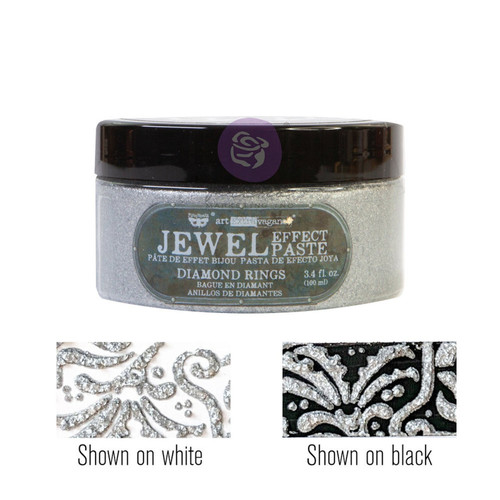 Diamond Rings by  Art Extravagance Jewel Texture pastes, , FREE SHIPPING