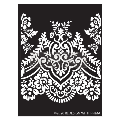 Elegant Lace Prima Stencils  Furniture Stencils from Redesign with Prima FREE SHPPING