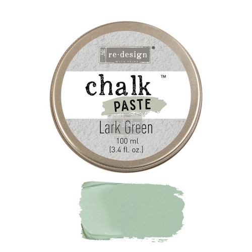 Lark Green Chalk Paste for stencils, furniture, painting  from Redesign with Prima with free shipping