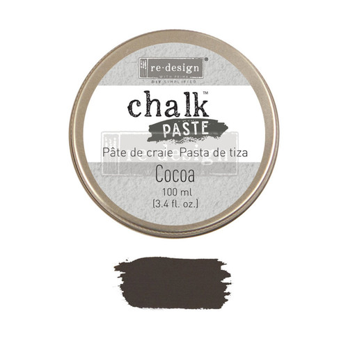 Cocoa Chalk Paste for stencils, furniture, painting from Redesign with Prima  with free shipping