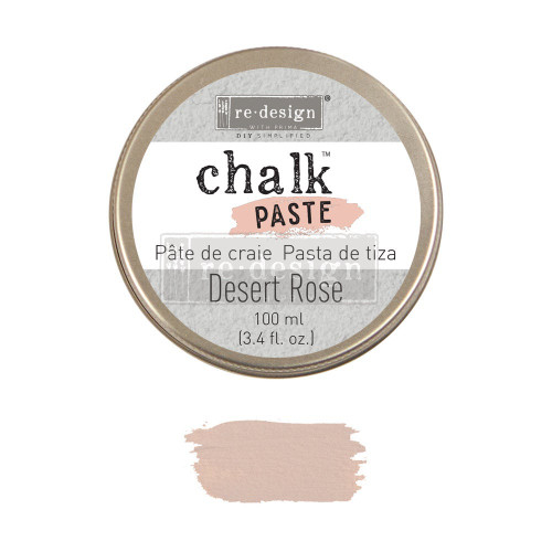 Desert Rose Chalk Paste for stencils, furniture, painting with free shipping