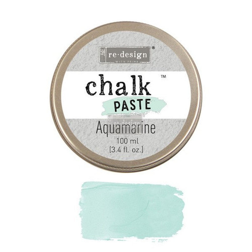 Aquamarine Chalk Paste for stencils, furniture, painting with free shipping