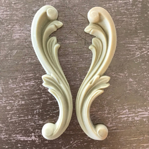 SC7 Shabby Chic Scrolls with EFEX , Made USA, Free Shipping
