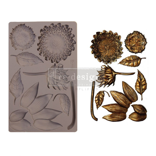 Forest Treasures Resin Mold from  Redesign with Prima with Free Shipping