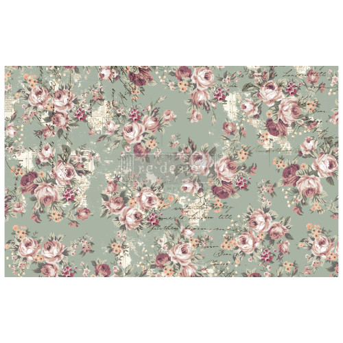 Olivia Decoupage Mulberry Tissue Paper from  Re-Design with Prima  with Free Shipping