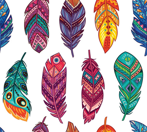 Decoupage Rice Paper Feathers from  Dixie Belle , 3 sheets per pack with Free Shipping