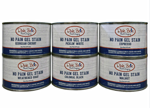 No Pain  Wood Gel Stain from Dixie Belle