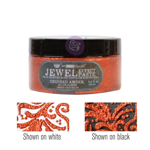 Crushed Amber by Art Extravagance Jewel Texture pastes with Free Shipping