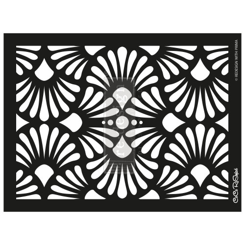 Cece Modern Deco Stencil from ReDesign with Prima  for furniture, walls and whatever you dream up!