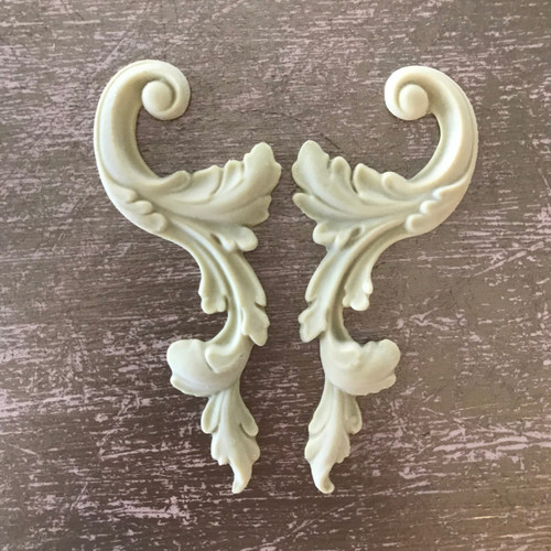 SC17 Small Decorative  Scrolls from EFEX  , Made USA, Free Shipping
